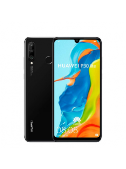 Huawei P30 lite 128GB Dual Sim Midnight Black CPO