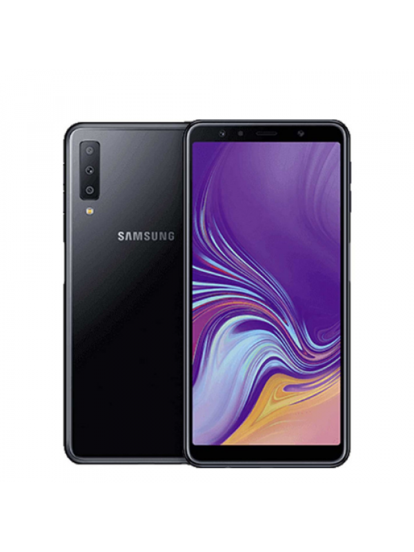 Samsung Galaxy A7 64GB Dual Sim 2018 Black - New Import